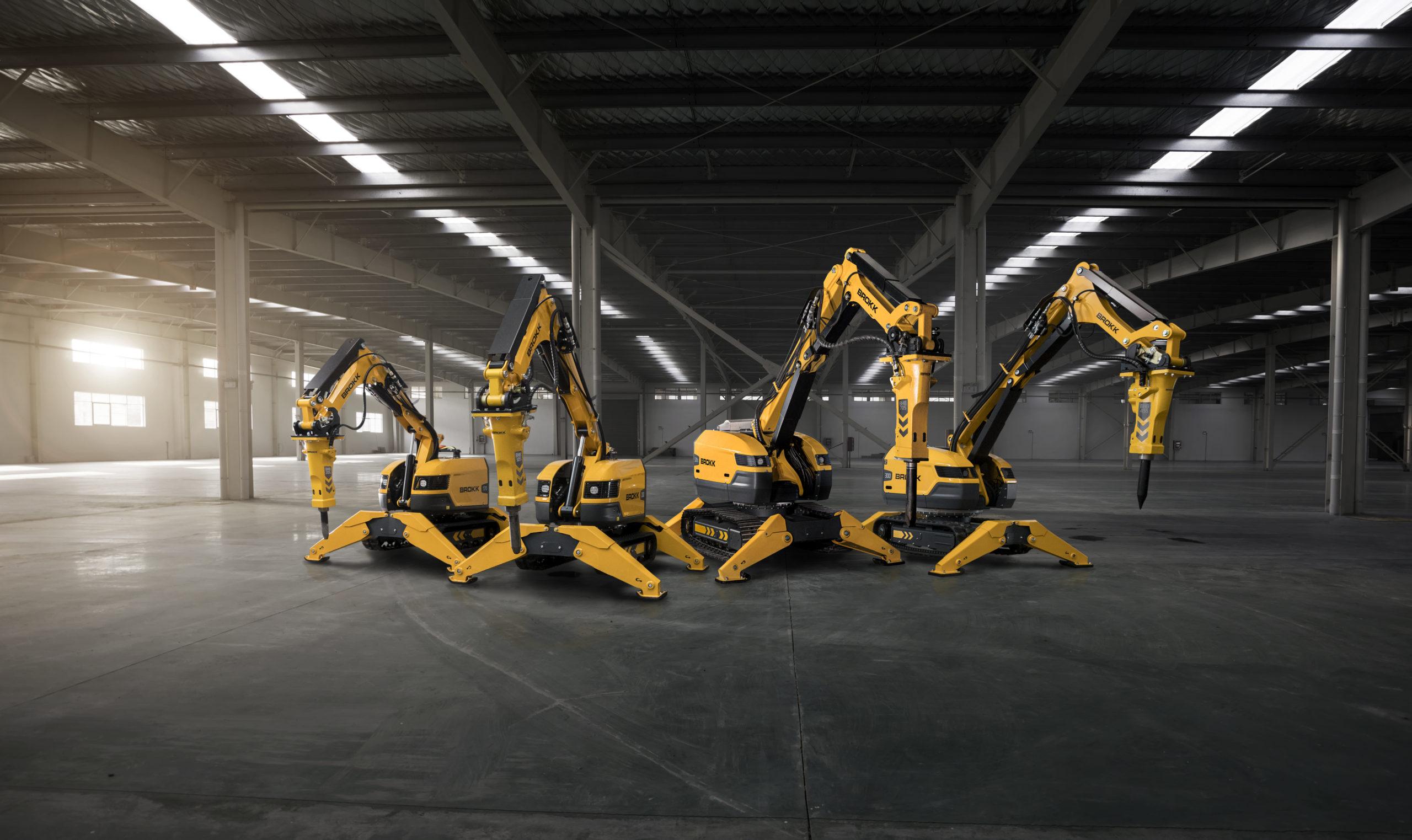 Brokk Launches 4 NEW Machines!